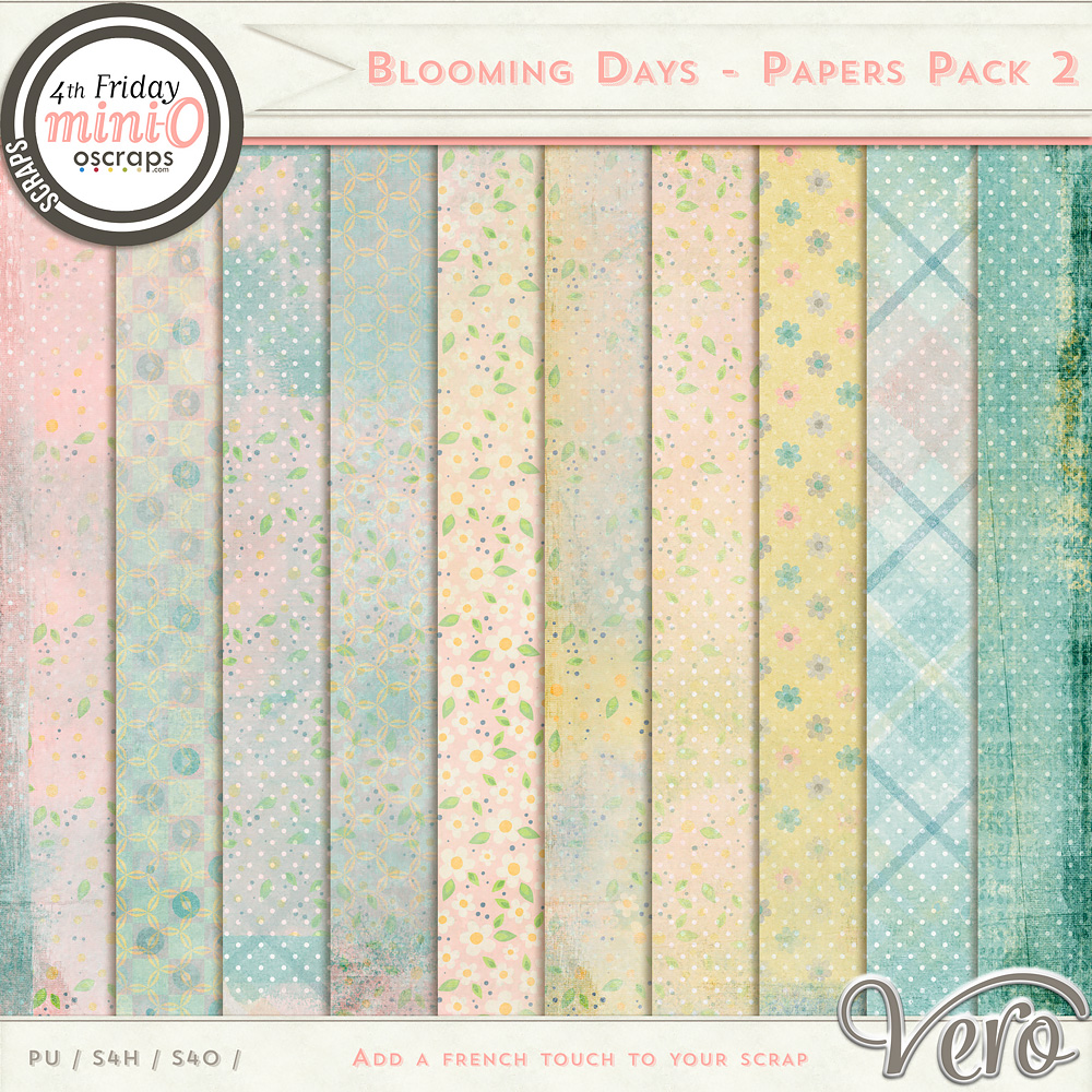 Blooming Days - Papers Pack 2