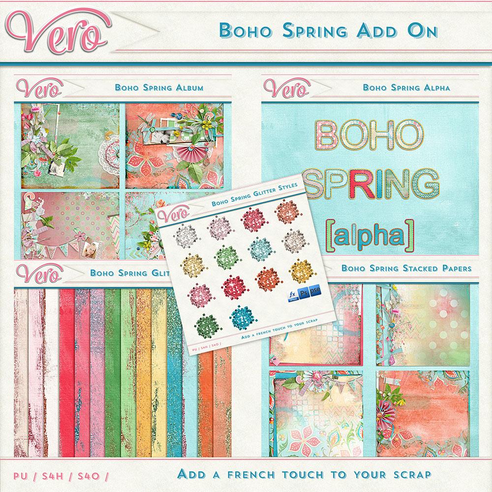 Boho Spring Add-On Bundle by Vero