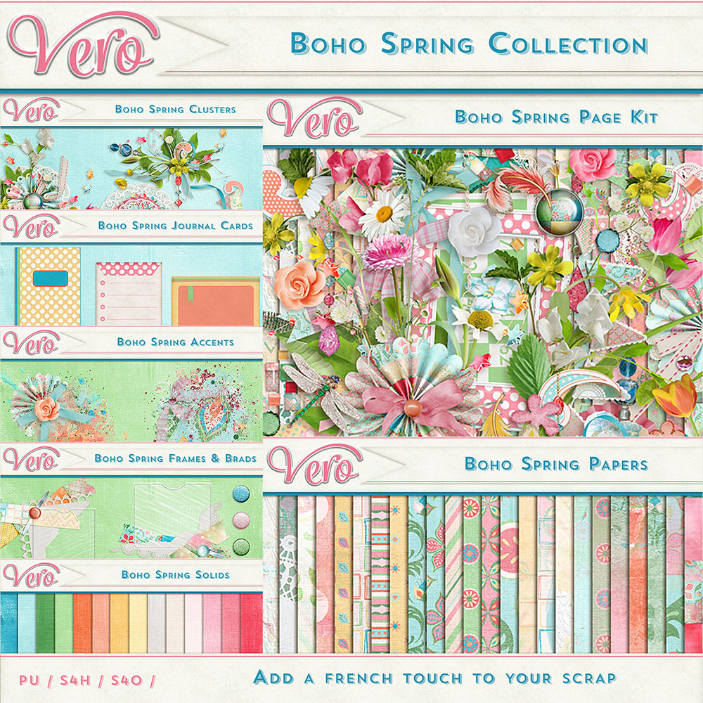 Boho Spring Collection by Vero