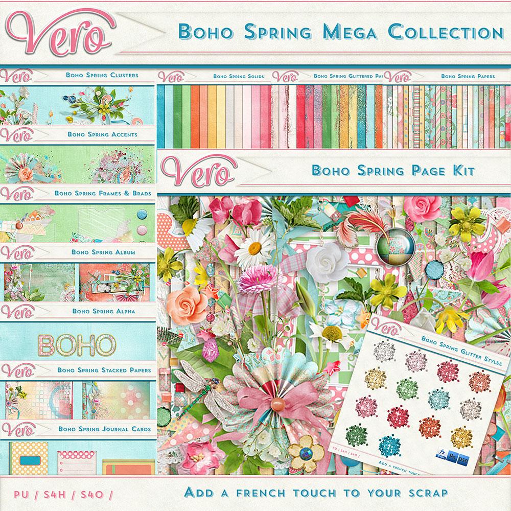 Boho Spring Mega Collection by Vero