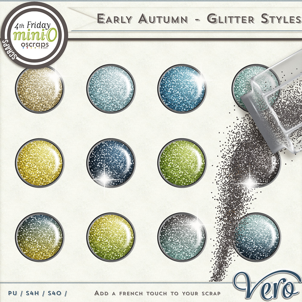 Early Autumn Glitter Styles by Vero