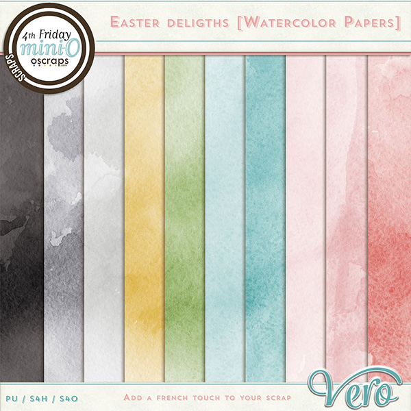 Easter Delights - Watercolour Papers