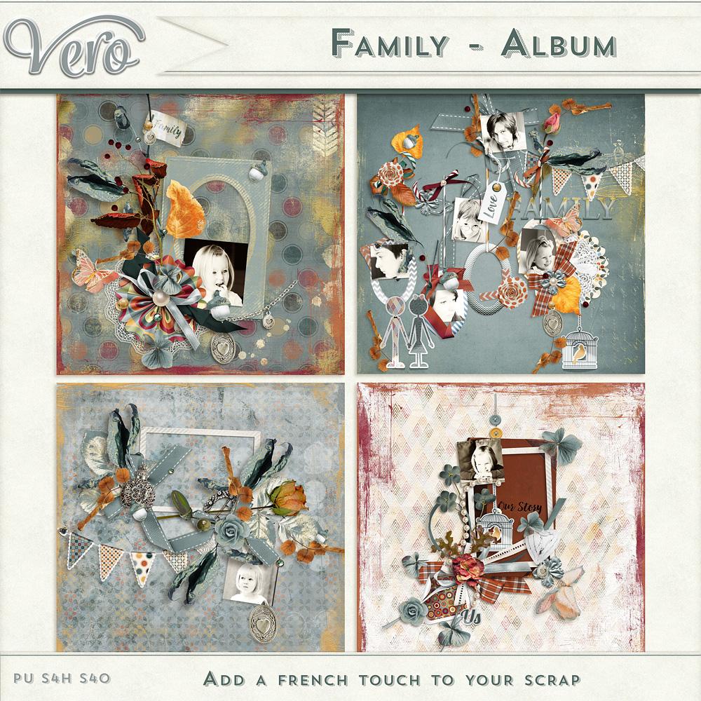 Family Album by Vero