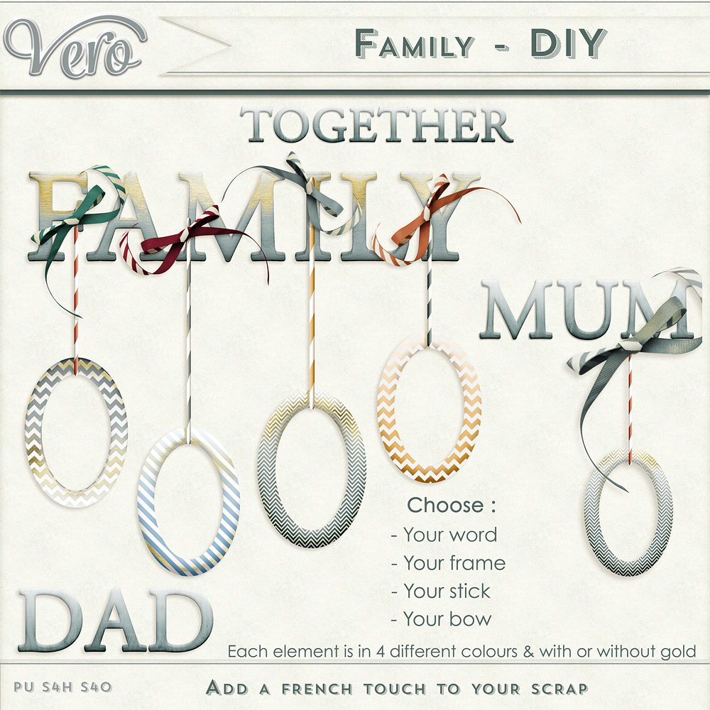 Family Do It Yourself by Vero