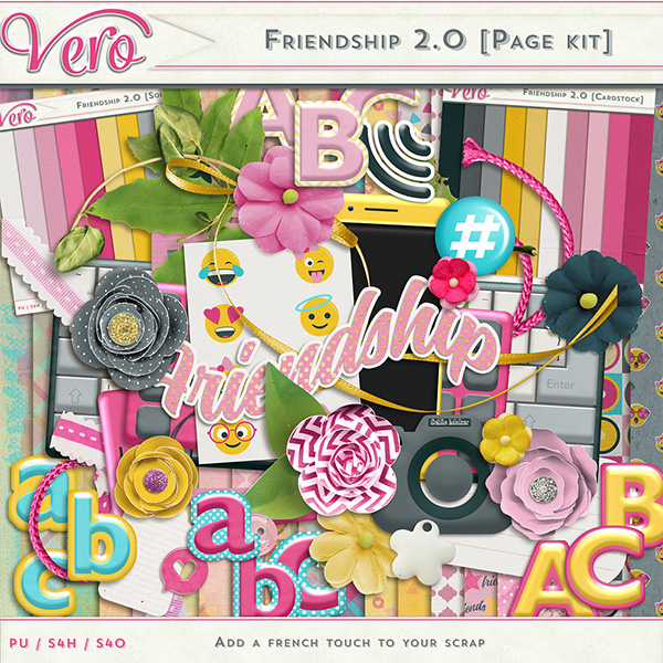 Friendship 2.0 - Page Kit