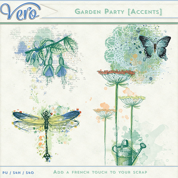 Garden Party Accents by Vero