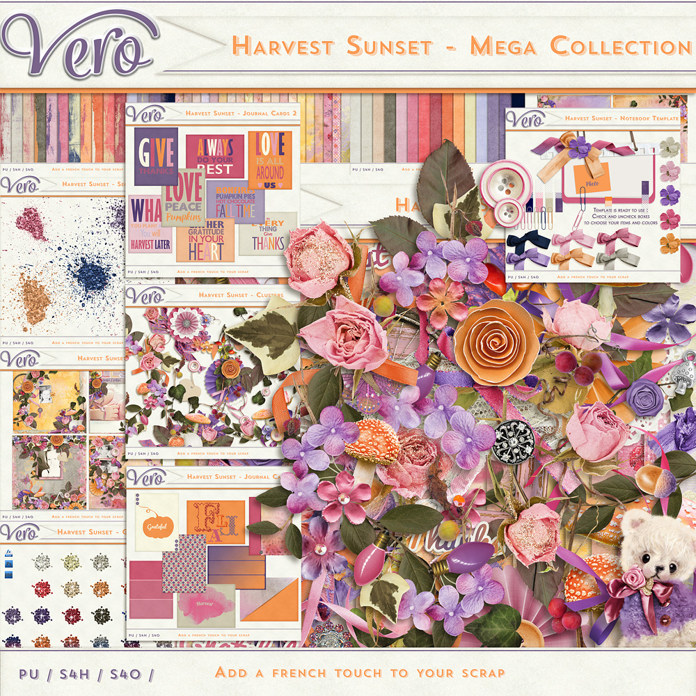 Harvest Sunset Collection by Vero