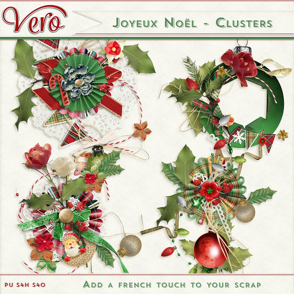 Joyeux Noel - Clusters