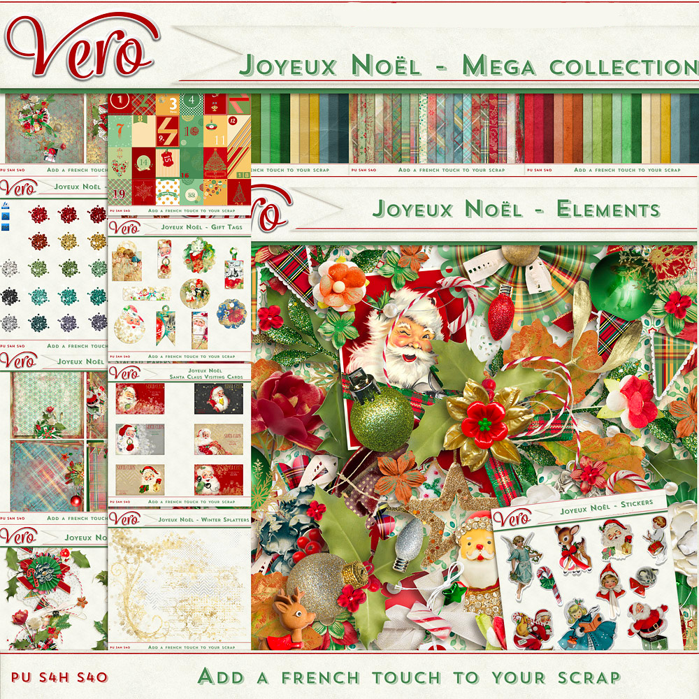 Joyeux Noel - Mega Collection (FWP included)