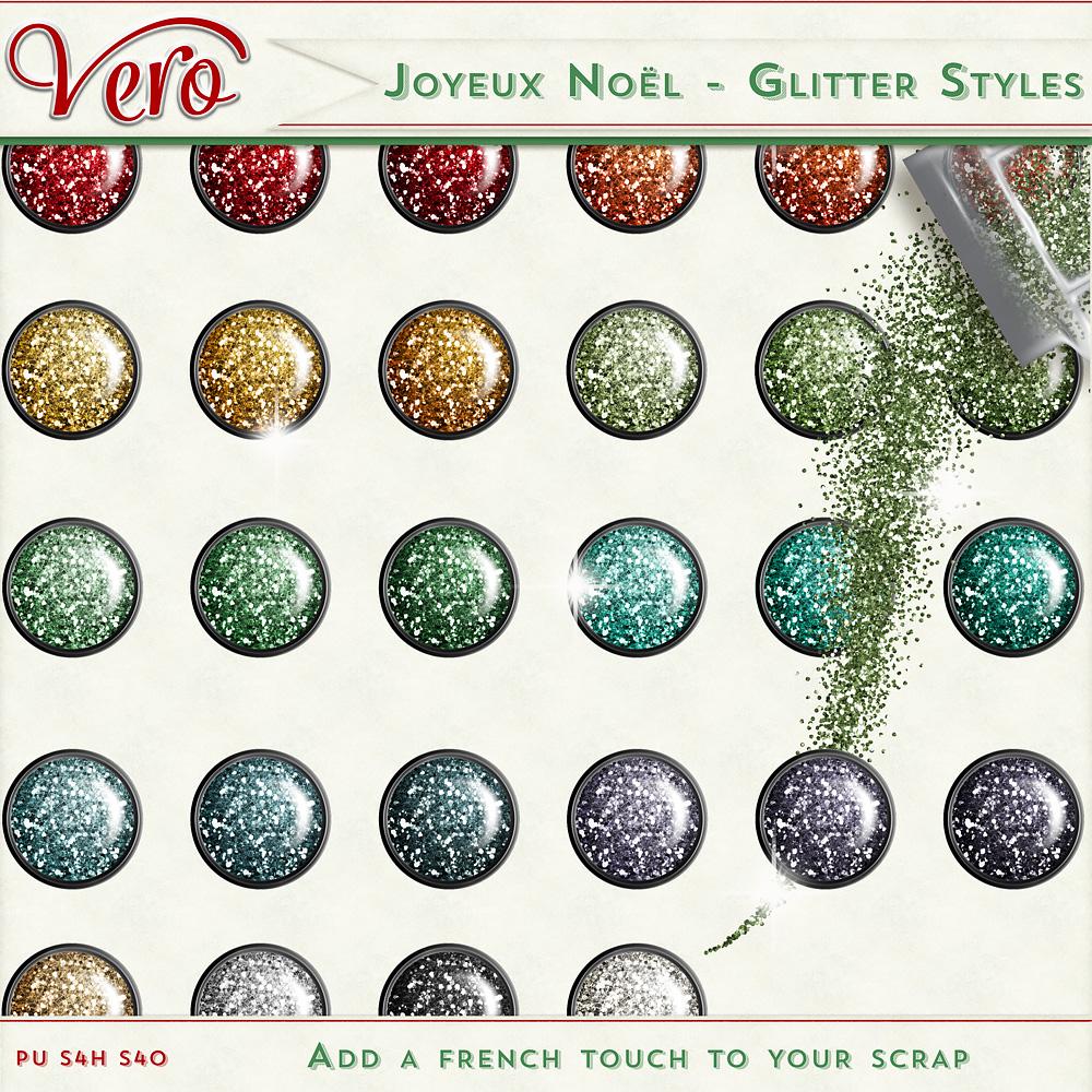 Joyeux Noel - Glitter Styles