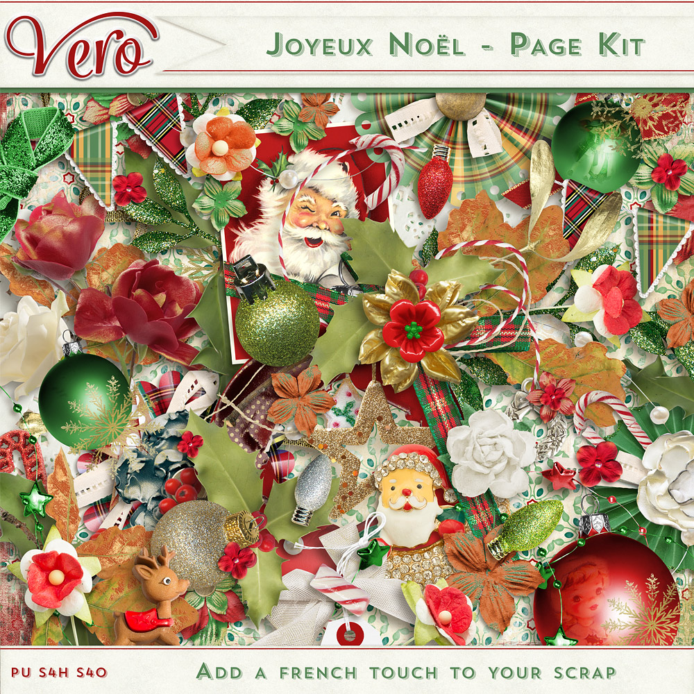 Joyeux Noel - Page Kit