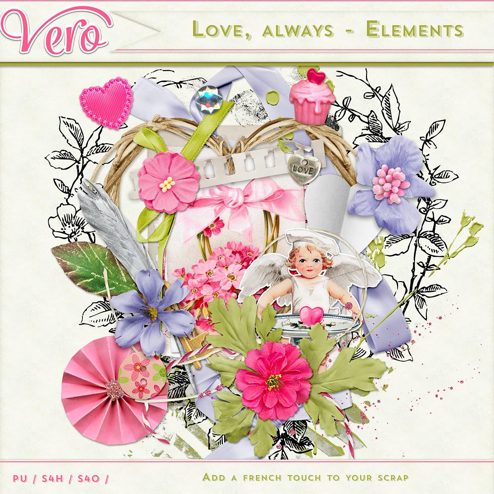 Love, Always - Elements