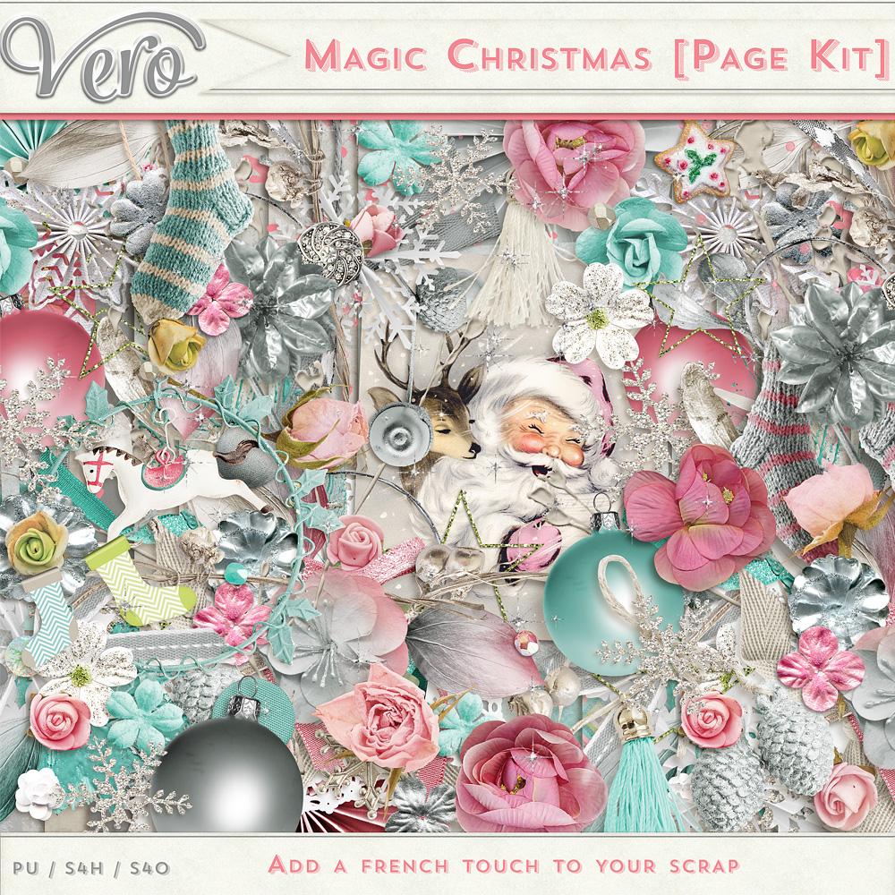 Magic Christmas - Page Kit