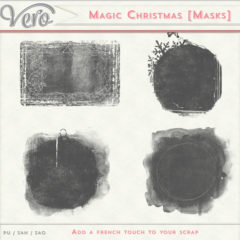 Magic Christmas - Clipping Masks