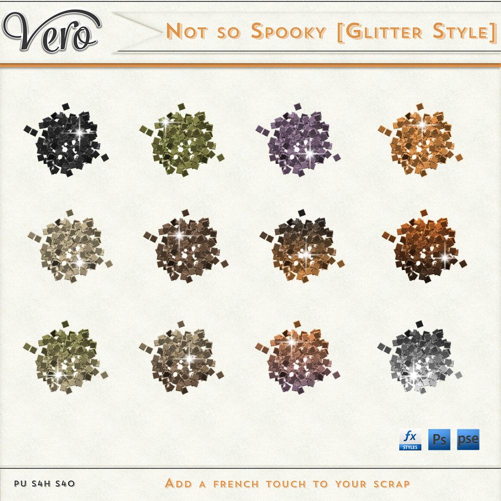 Not So Spooky Glitter Styles by Vero