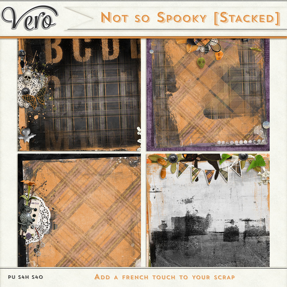 Not So Spooky Stackers by Vero