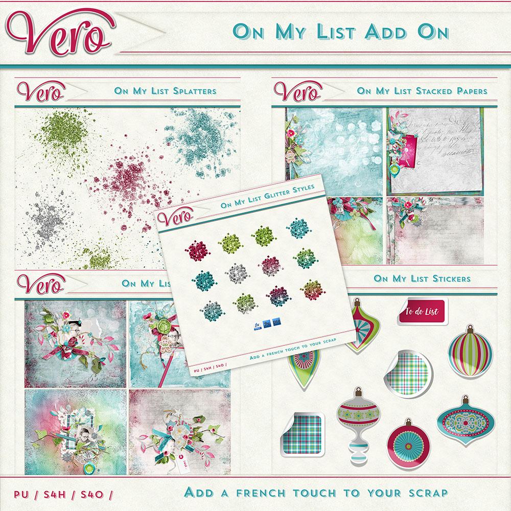 On My List Add-On Bundle by Vero