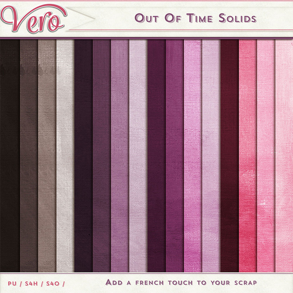 Out of Time Solid Papers by Vero