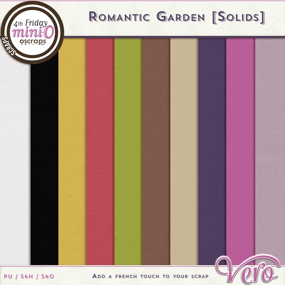 Romantic Garden - Solids