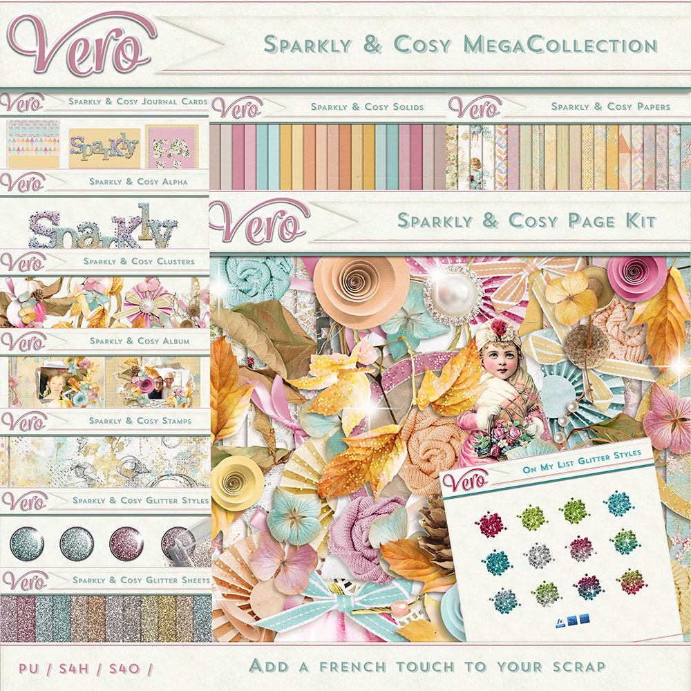 Sparkly and Cosy Mega Collection by Vero