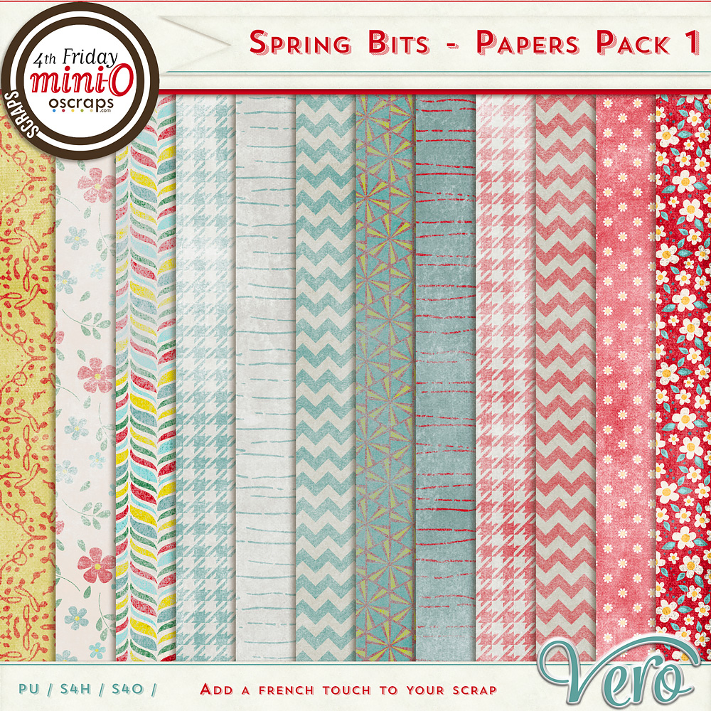 Spring Bits - Papers Pack 1