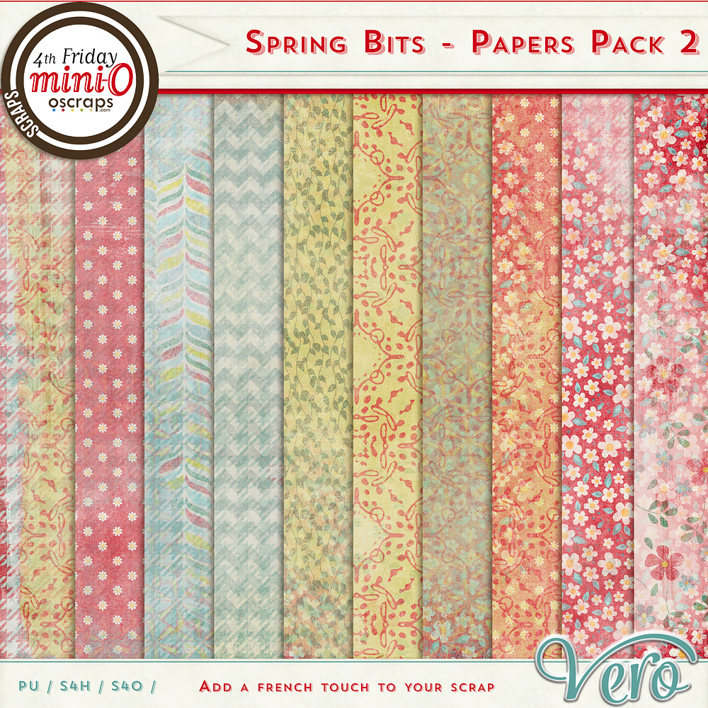 Spring Bits - Papers Pack 2