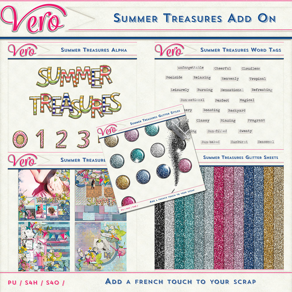Summer Treasures Add-On Bundle by Vero