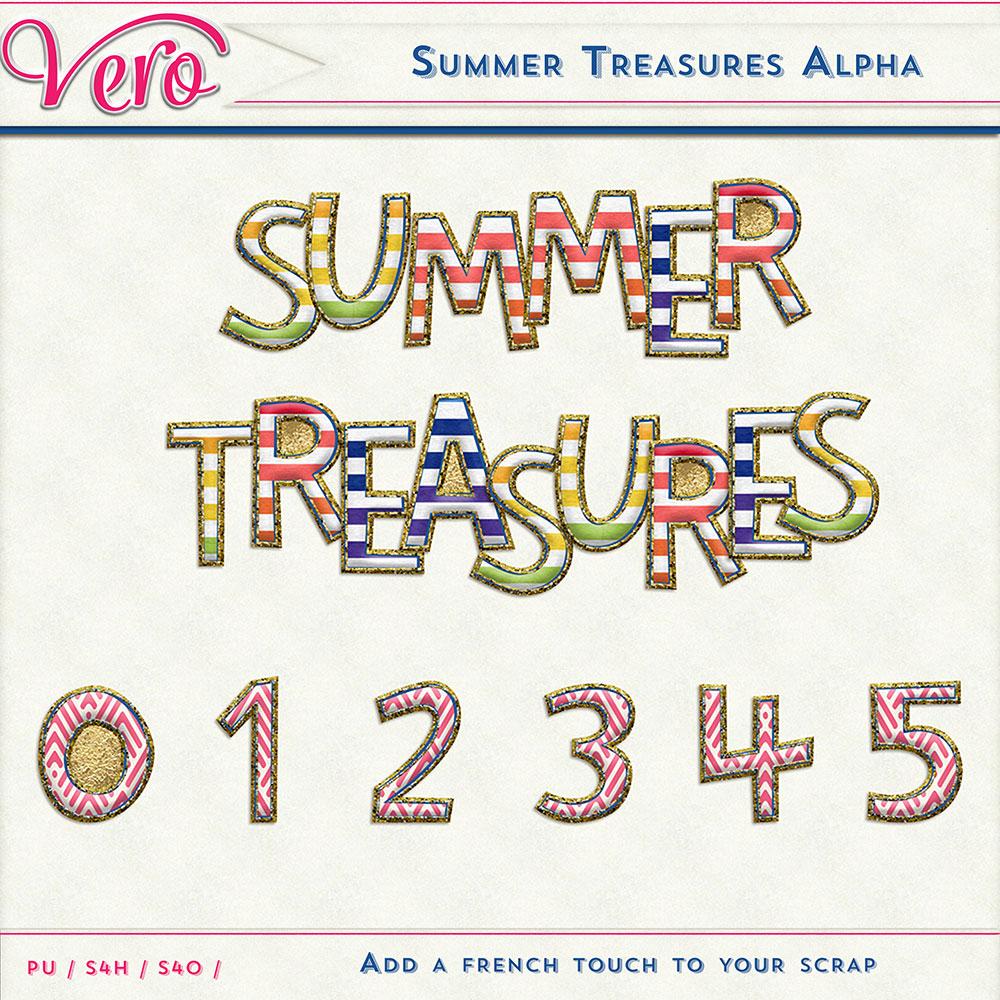 Summer Treasures Alpha by Vero