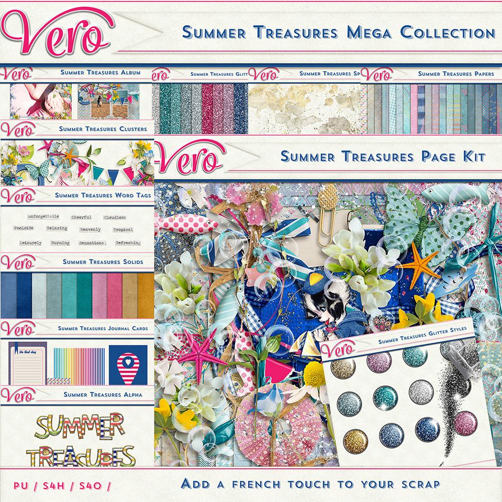Summer Treasures Mega Collection by Vero