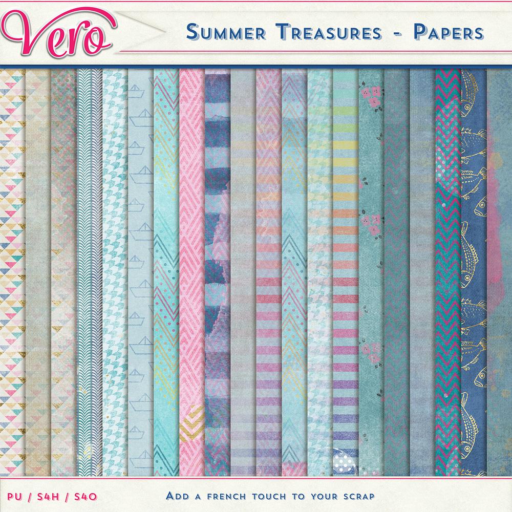 Summer Treasures - Papers