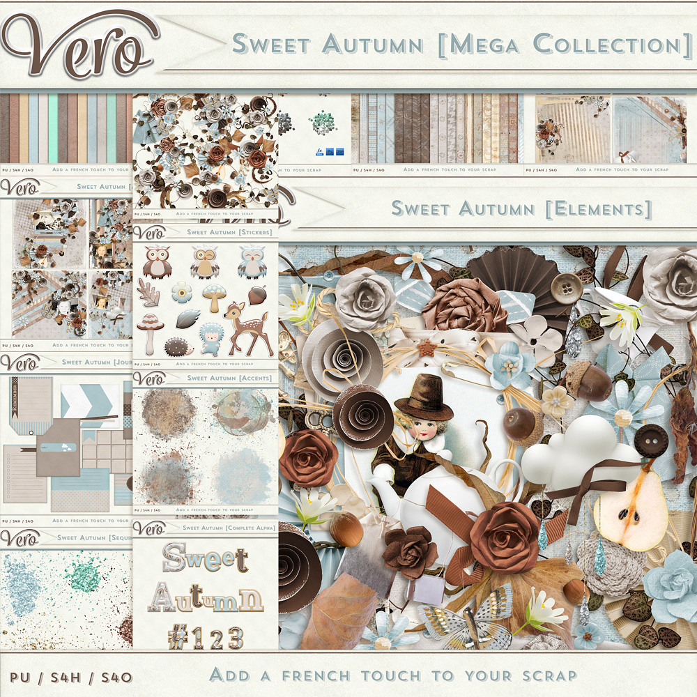 Sweet Autumn Mega Collection by Vero