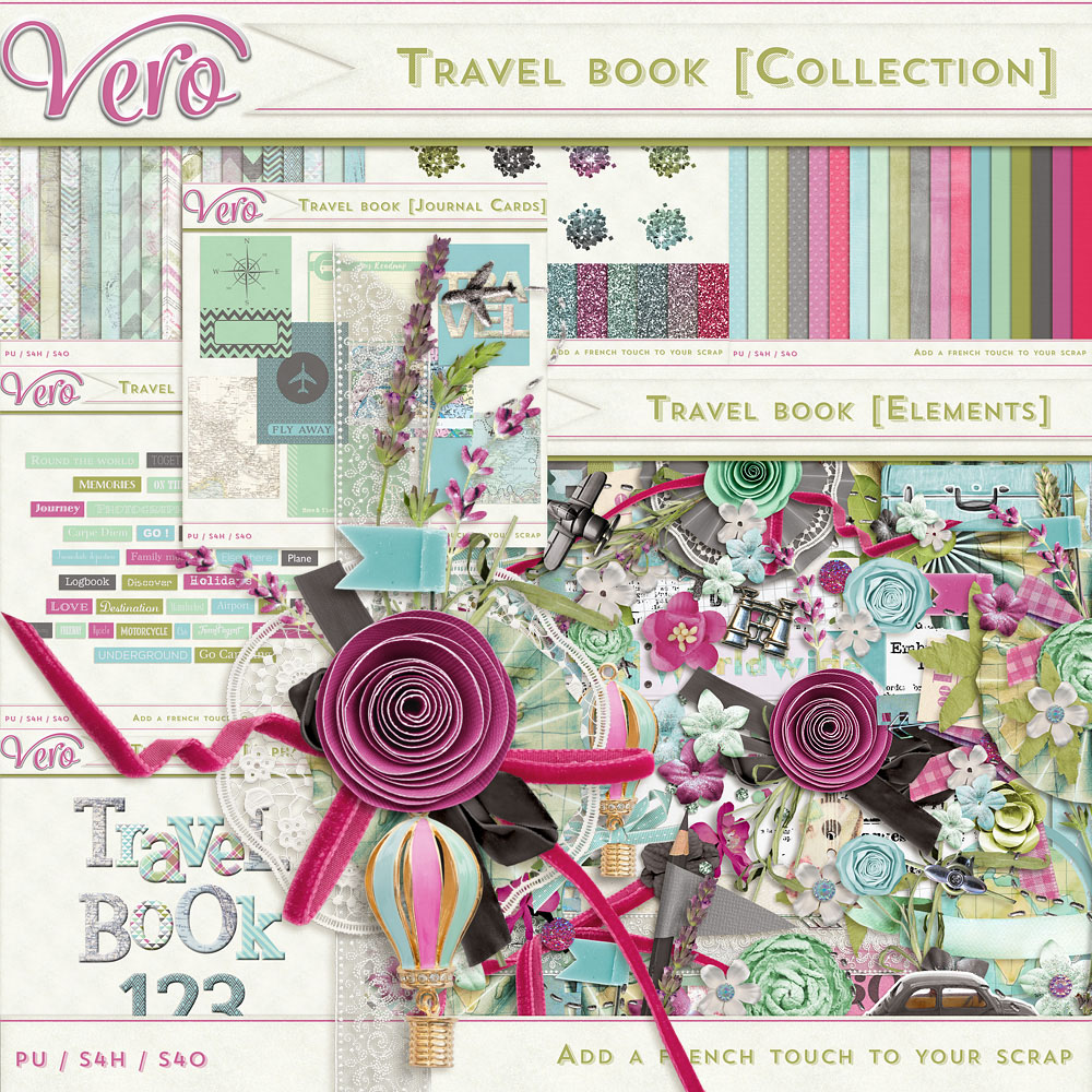Travel Book Collection by Vero