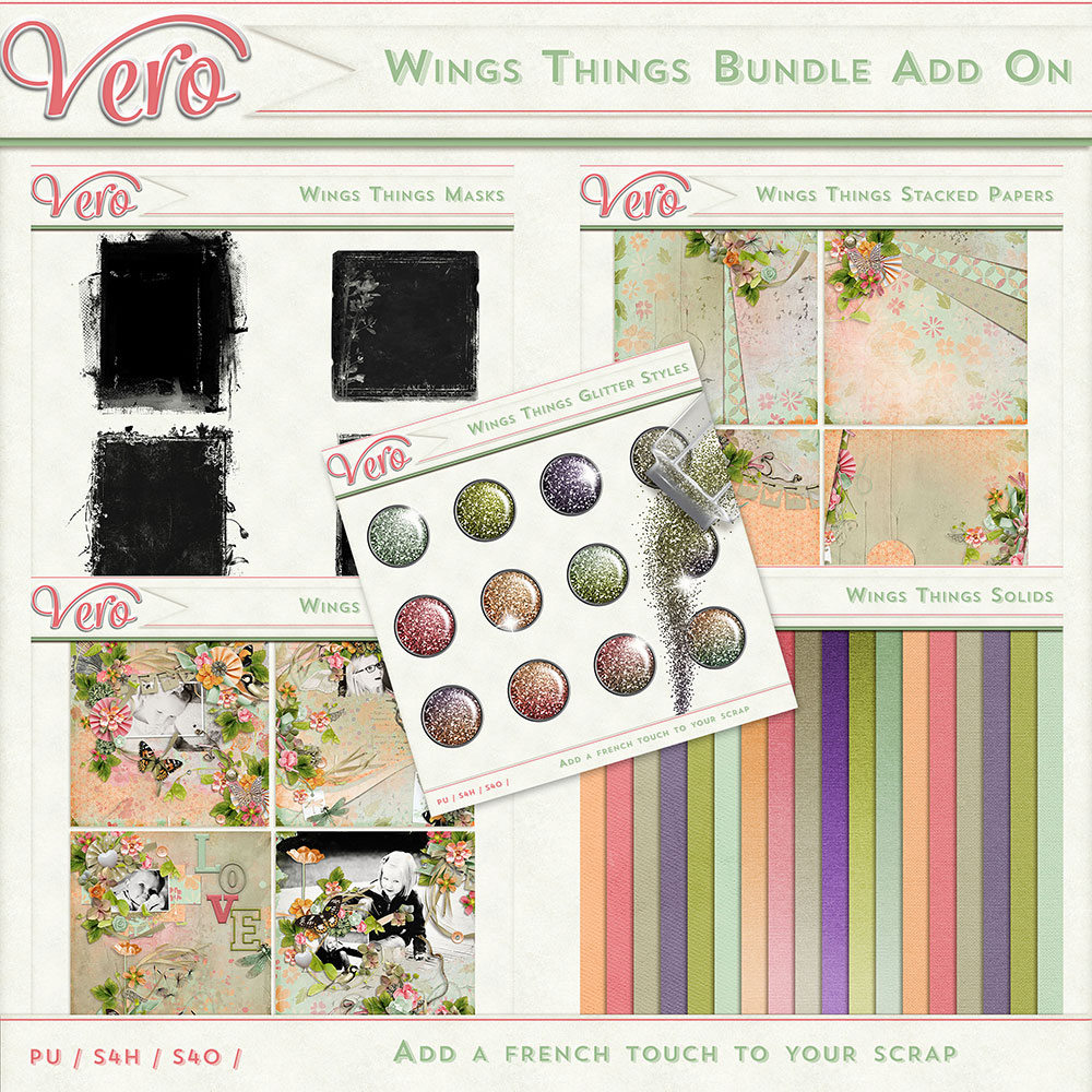 Wings Things Bundle Add-On by Vero