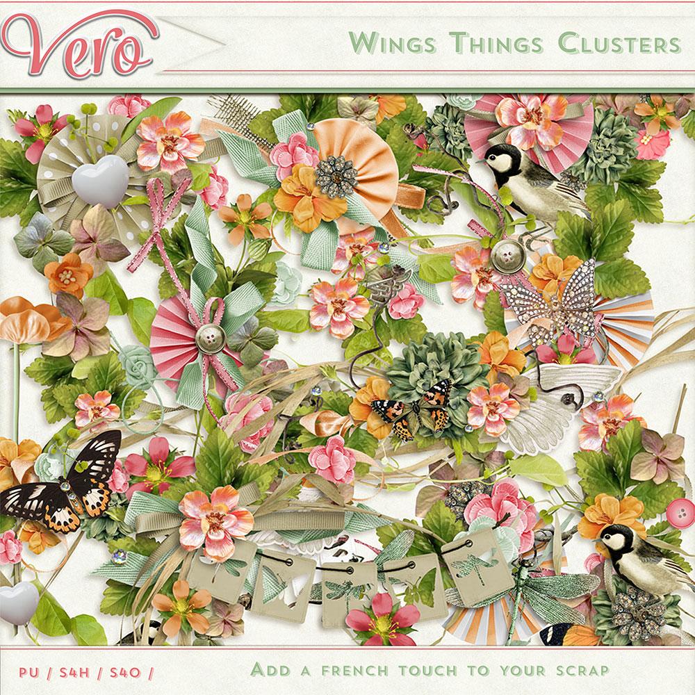 Wings Things Clusters by Vero