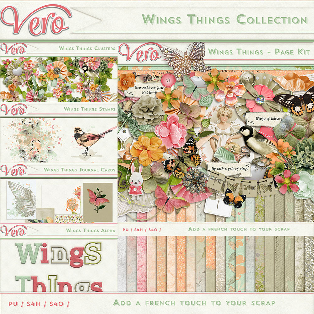 Wings Things Collection by Vero