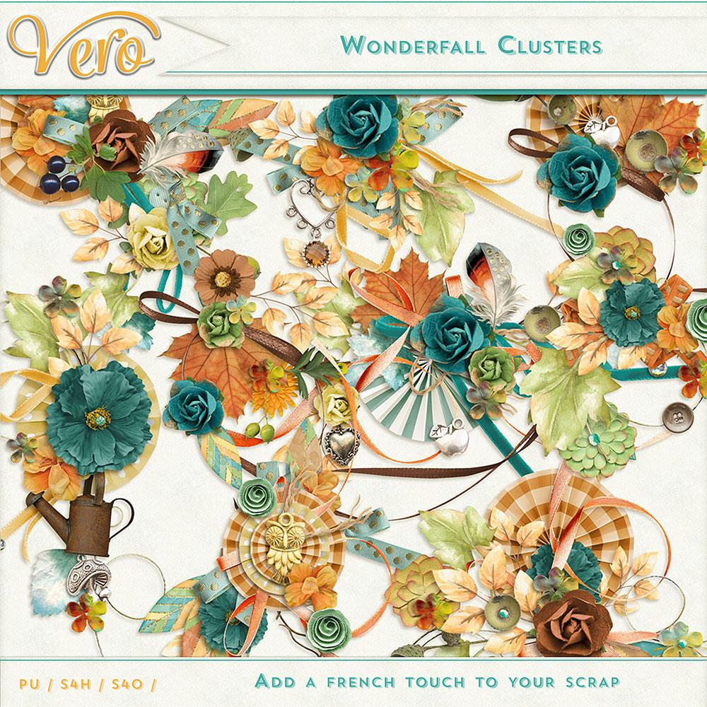 Wonderfall Clusters by Vero