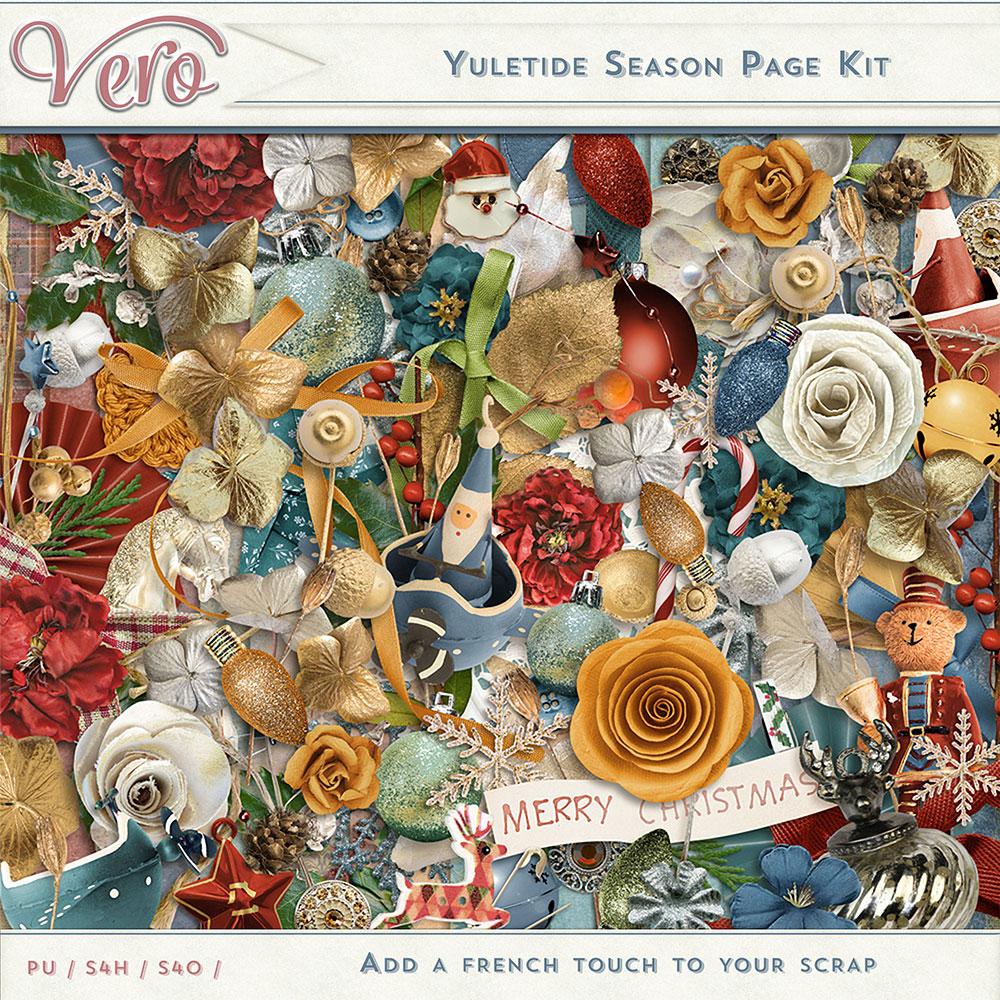 Yuletide Season Page Kit by Vero