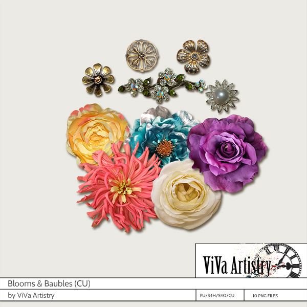 Blooms and Baubles CU