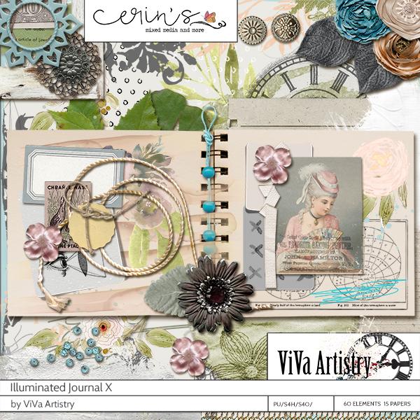 Illuminated Journal 10