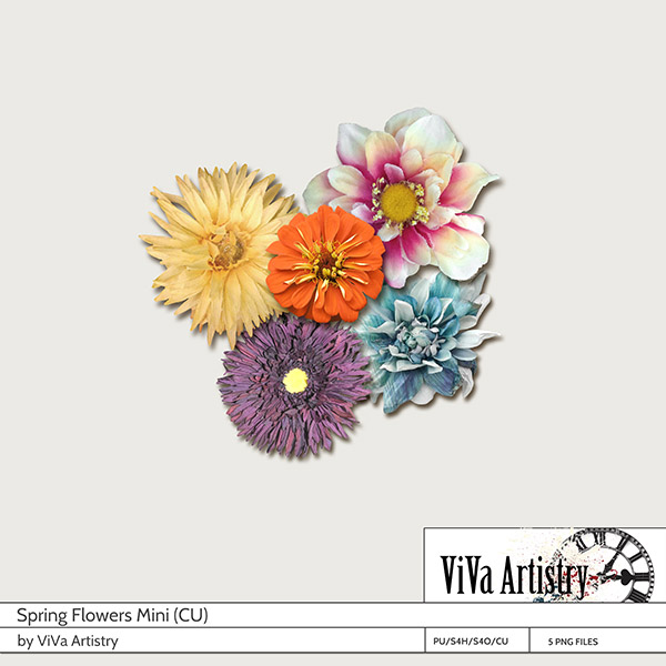 Spring Flowers Mini (CU)