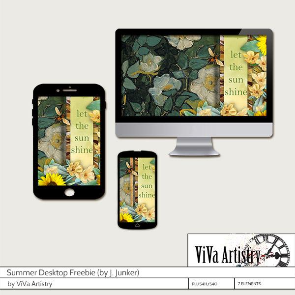 Summer Desktop Freebie