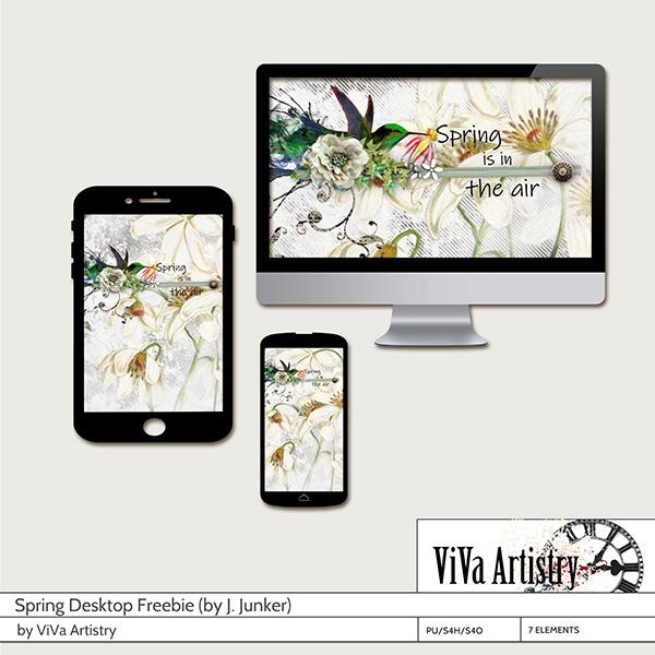 Spring Desktop Freebie