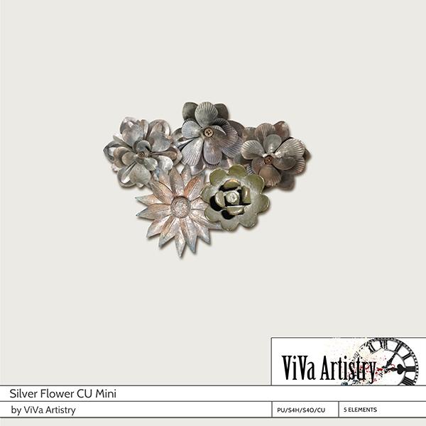 Silver Flower Mini (CU)