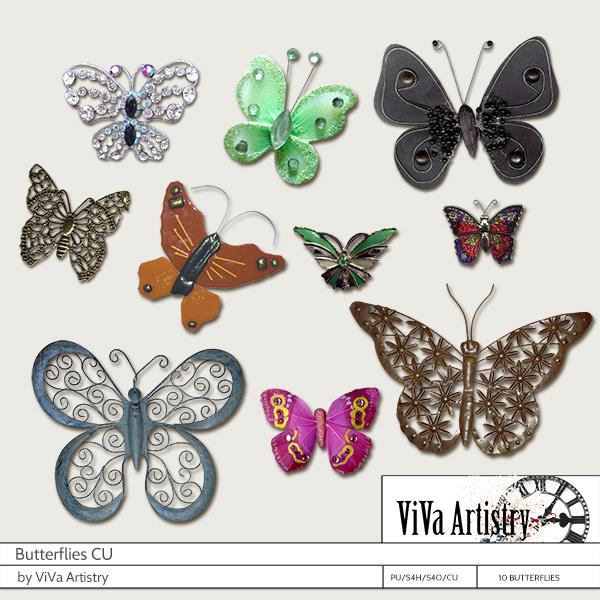 Butterflies (CU)