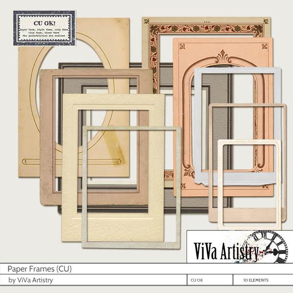 Paper Frames (CU)
