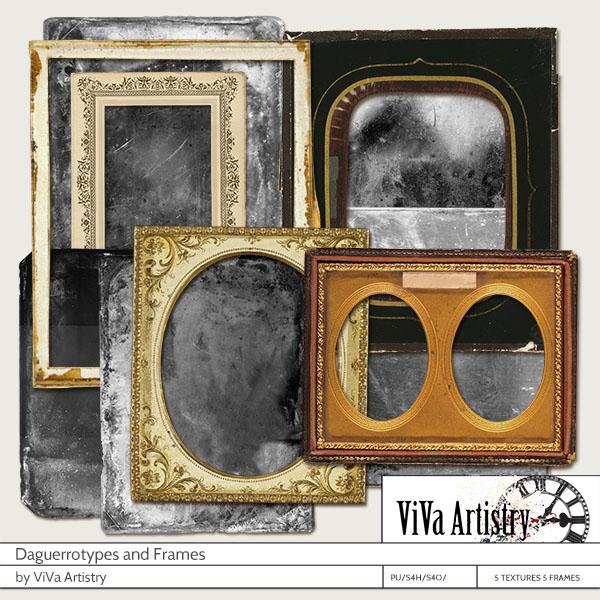 Daguerotypes and Frames