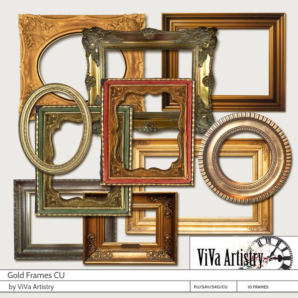 Gold Frames CU