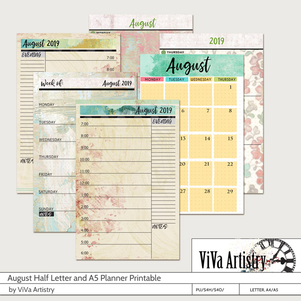 picture about A5 Planner Printable named Electronic Sbook Retailer Sbooking Artwork