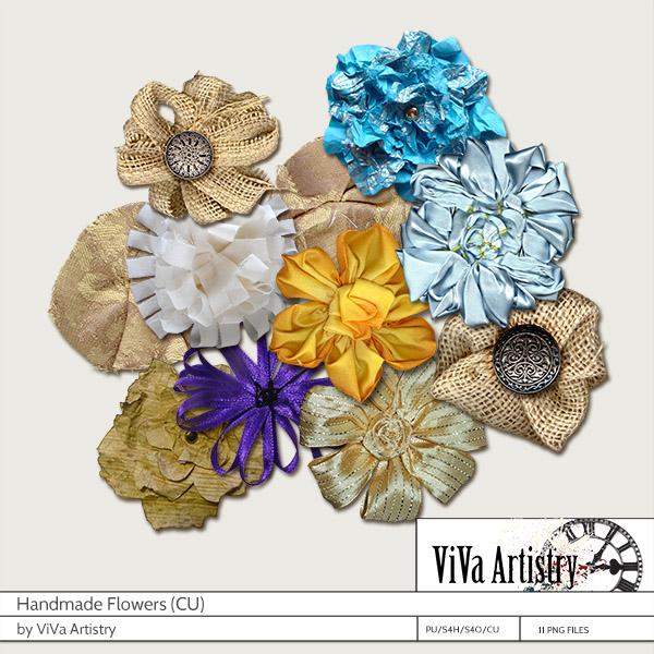 Handmade Flowers CU