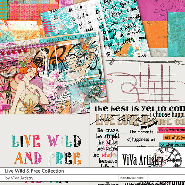 Live Wild & Free: Collection